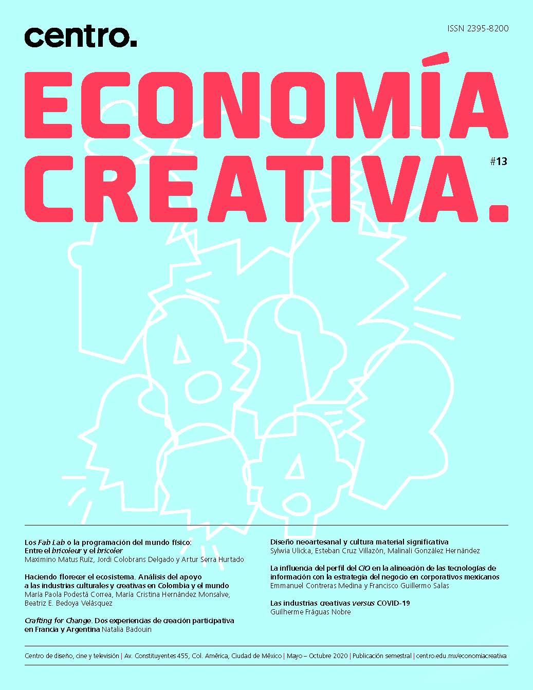Revista Economía Creativa. Número 13. Año 2020.